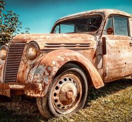France Old Renault Juvaquatre Pkw Auto Rarity